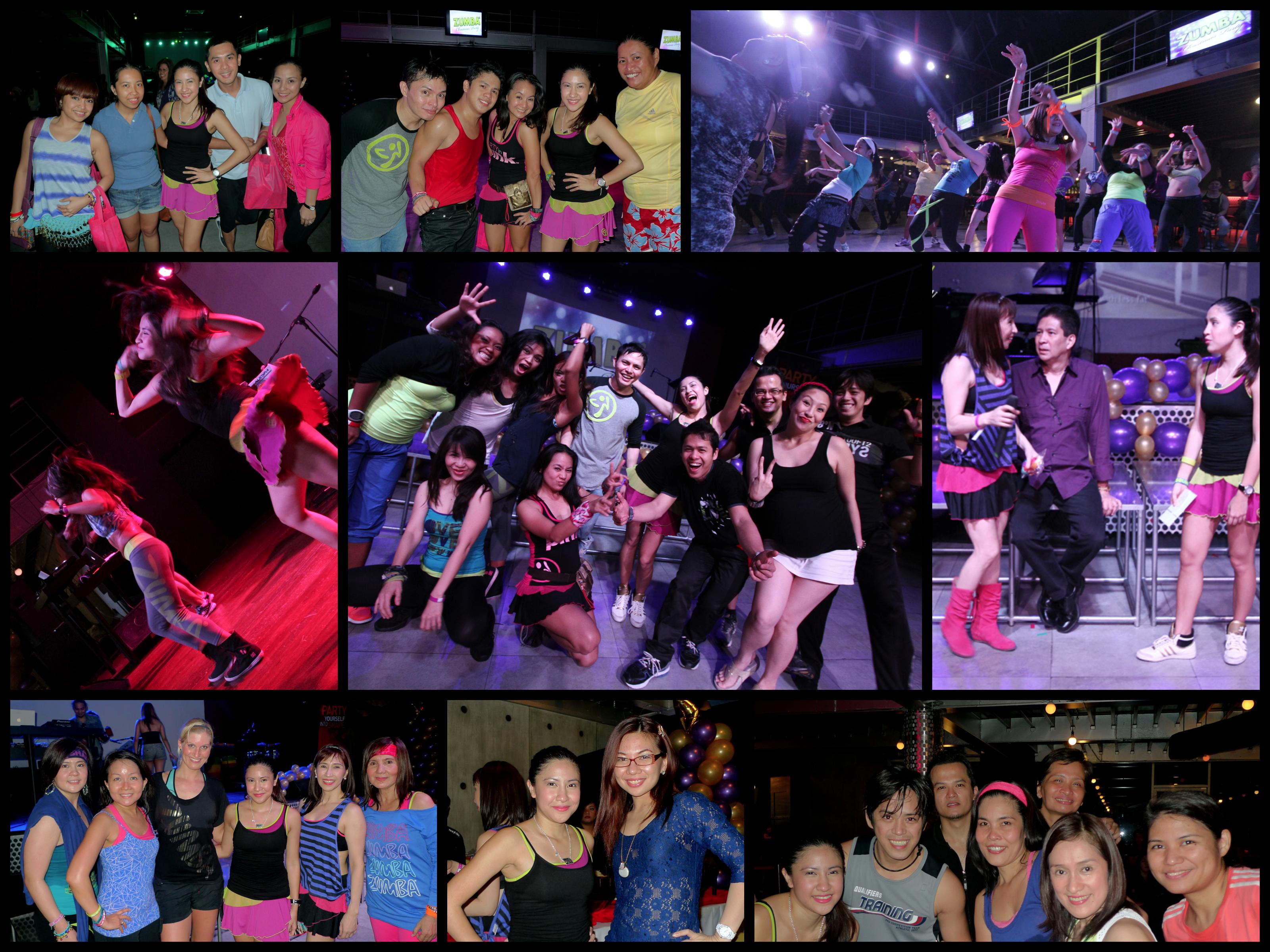 Zumba Christmas Party… in the Club | Kristie Bonifacio