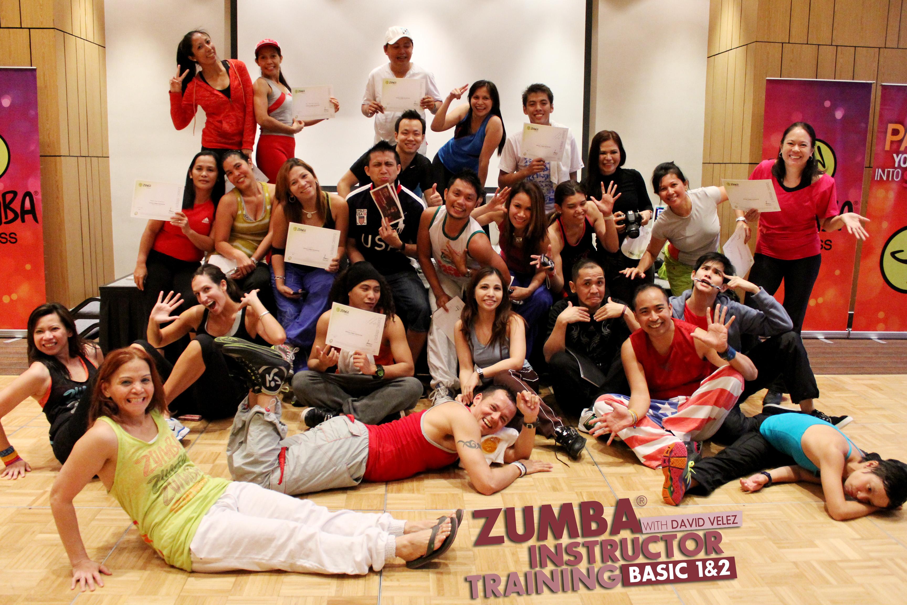 Zumba Instructor Training Kristie Bonifacio